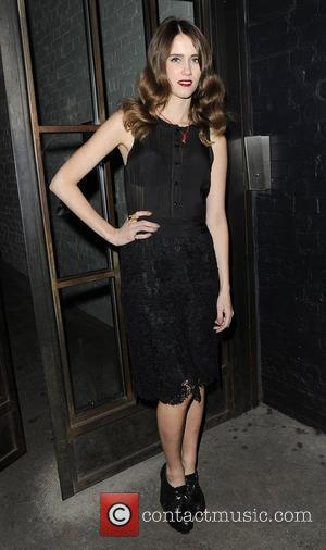 Sunday Girl arriving at the InStyle Best of British Talent Party at Shoreditch House. London, England - 26.01.12