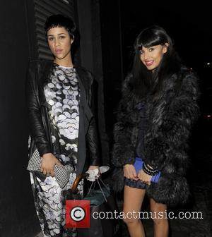 Zawe Ashton and Jameela Jamil arriving at the InStyle Best of British Talent Party at Shoreditch House. London, England -...