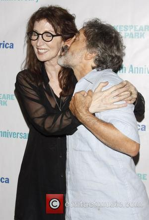 Chip Zien and Joanna Gleason Opening night after party for the Public Theater production of 'Into The Woods' at the...