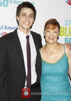Gideon Glick and Tina Johnson Opening night after party for the Public Theater production of 'Into The Woods' at the...