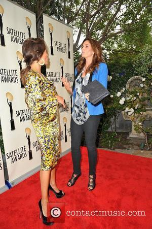 Vanessa Williams and Cindy Crawford  attend the IPA Dinner honoring Brian Edwards Los Angeles, California - 03.05.12