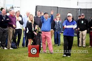 Bill Murray  Pro-am for the 2012 Irish Open held on the Dunluce Links at at Royal Portrush Golf Club...