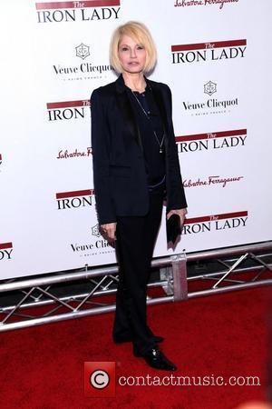 Ellen Barkin  at the New York premiere of 'The Iron Lady' at the Ziegfeld Theater. New York City, USA...
