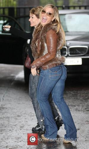 Anastacia at the ITV studios London, England - 01.10.12