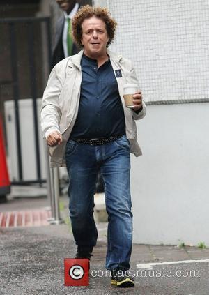 Leo Sayer at the ITV studios London, England - 02.07.12