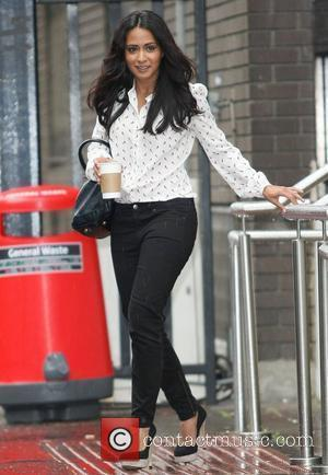 Parminder Nagra at the ITV studios London, England - 06.07.12
