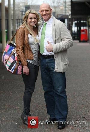 Chemmy Alcott and Sean Rice at the ITV studios London, England - 09.03.12