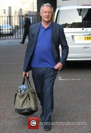 Chris Tarrant  outside the ITV studios London, England - 12.03.12
