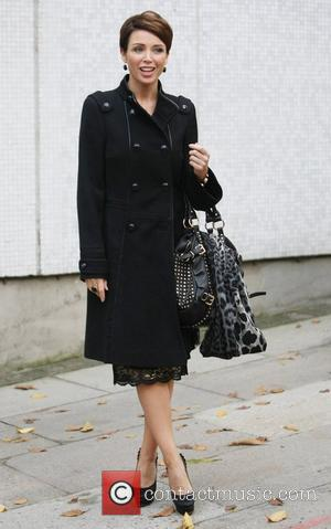 Dannii Minogue at the ITV studios  London, England - 14.11.12
