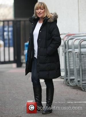 Laurie Brett at the ITV studios London, England - 16.02.12