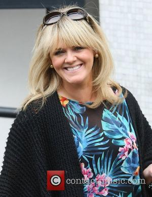 Sally Lindsay at the ITV studios London, England - 21.09.12