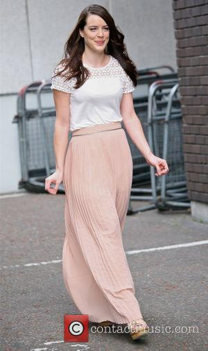 Michelle Ryan at the ITV Studios London, England - 21.08.12