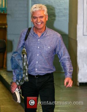 Phillip Schofield outside the ITV studios London, England - 22.10.12