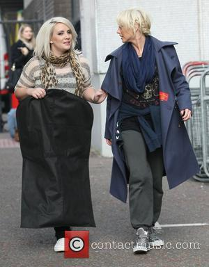 Claire Richards and Faye Tozer from Steps at the ITV studios London, England - 23.03.12