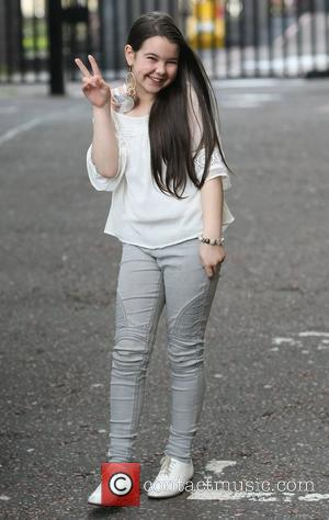 Lauren Thalia from Britain's Got Talent at the ITV studios London, England - 23.04.12