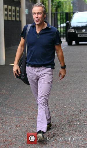 John Hannah outside the ITV studios London, England - 24.08.12