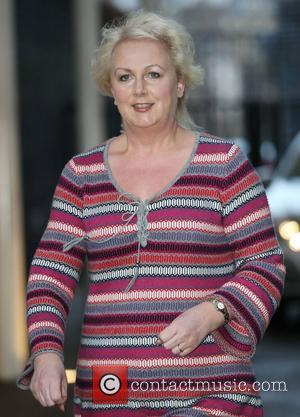 Sue Cleaver at the ITV studios London, England - 25.01.12