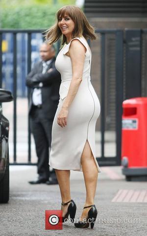 Carol Vorderman at the ITV studios London, England - 28.06.12