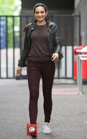 Laura Wright outside the ITV studios London, England - 01.06.12