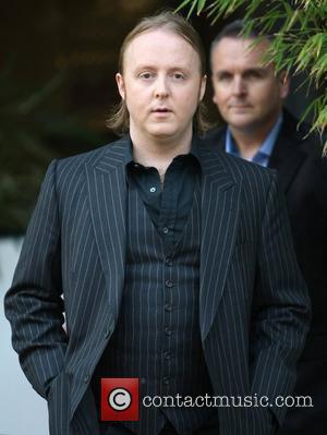James McCartney leaves the ITV studios London, England - 02.04.12