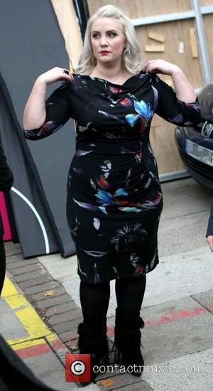 Claire Richards at the ITV studios London, England - 16.11.12