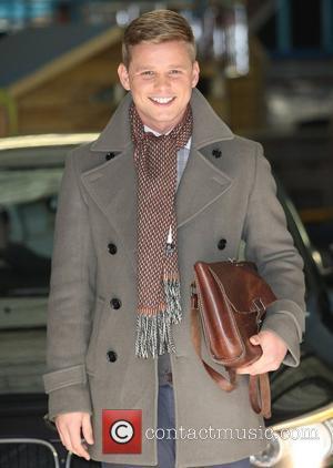 Jeff Brazier at the ITV studios London, England - 20.02.12