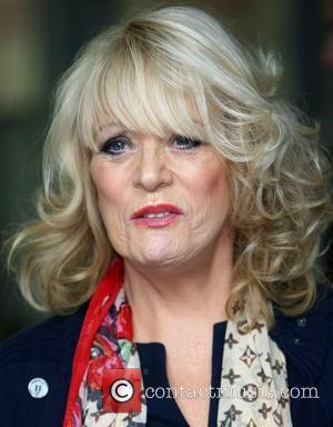 Sherrie Hewson at the ITV studios London, England - 20.07.12