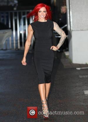 Jodie Marsh at the ITV studios London, England - 25.01.12