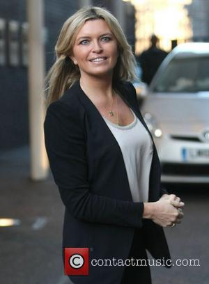 Tina Hobley at the ITV studios London, England - 27.01.12