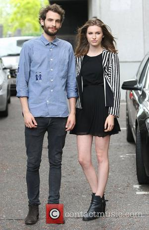Tali Lennox and Harry Gilliam at the ITV studios London, England - 28.06.12