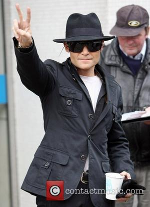 Corey Feldman leaves the ITV studios London, England - 30.01.12