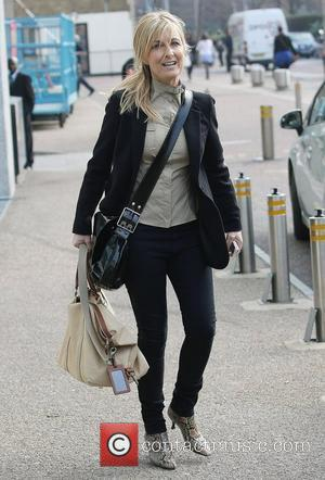 Fiona Phillips at the ITV studios London, England - 30.03.12