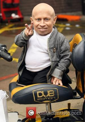 Verne Troyer outside the ITV studios London, England - 01.10.12