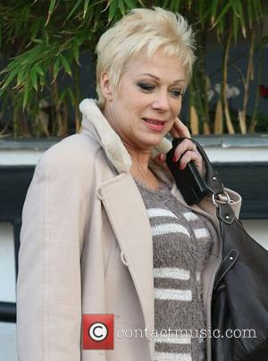 Denise Welch at the ITV studios London, England - 07.02.12