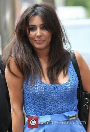 Laila Rouass at the ITV studios London, England - 14.09.12