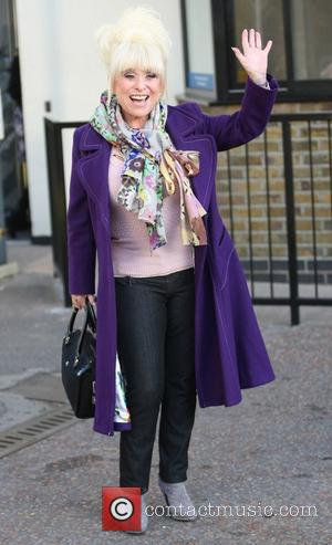 Barbara Windsor outside the ITV studios London, England - 14.12.11