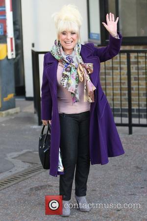 Barbara Windsor outside the ITV studios London, England - 14.12.11