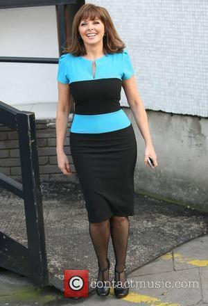 Carol Vorderman at the ITV studios London, England - 15.03.12