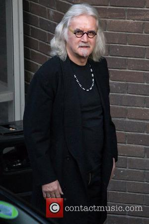 Billy Connolly Celebrities at the ITV studios London, England - 18.10.12