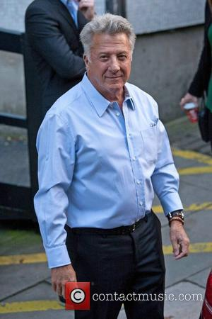 Dustin Hoffman Celebrities at the ITV studios London, England - 18.10.12