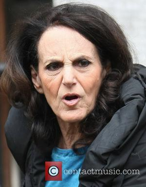 Lesley Joseph at the ITV studios London, England - 23.04.12