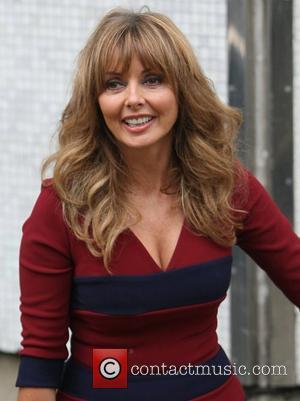Carol Vorderman at the ITV studios London, England - 24.10.12