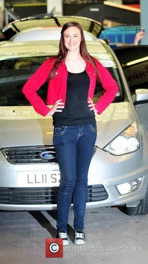 Ashleigh Butler at the ITV studios London, England - 14.05.12