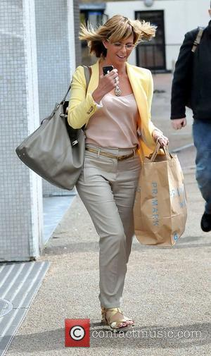 Kate Garraway outside the ITV studios London, England - 15.05.12