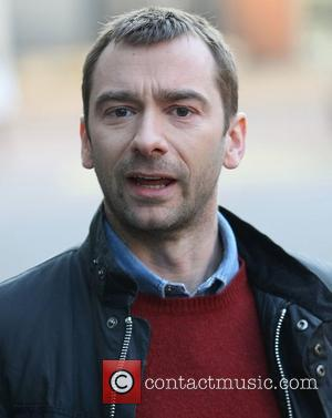 Charlie Condou at the ITV studios London, England - 02.02.12