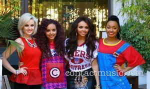 Perrie Edwards, Jade Thirlwall, Jesy Nelson and Leigh-Anne Pinnock of Little Mix at the ITV Studios London, England - 07.09.12