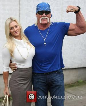 Hulk Hogan and his daughter Brooke Hogan at the ITV studios London, England - 25.01.12