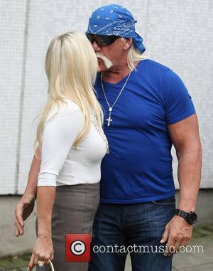 Hulk Hogan at the ITV studios London, England - 25.01.12