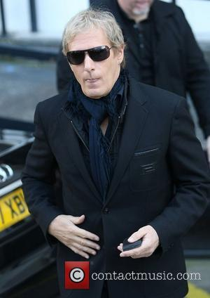Michael Bolton at the ITV studios London, England - 19.03.12