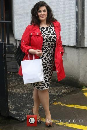 Jodie Prenger at the ITV studios London, England - 26.04.12
